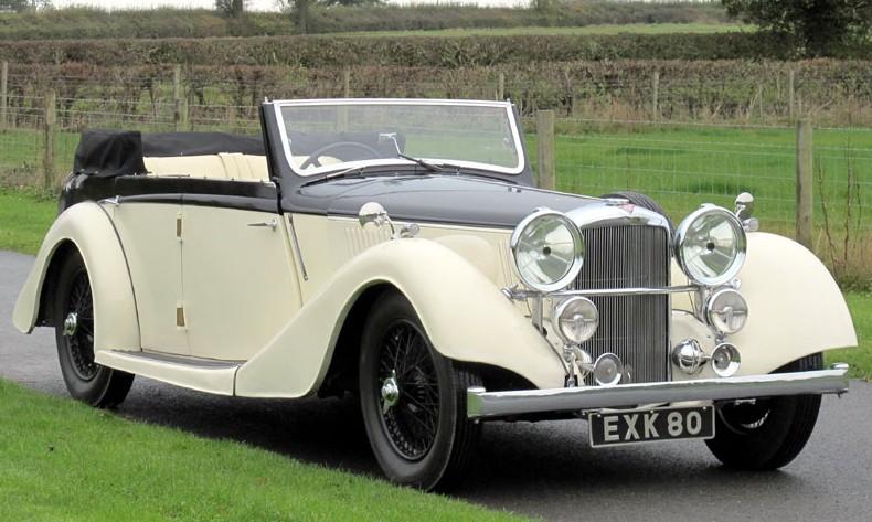 1938 Alvis 4.3-Litre Drophead Coupe