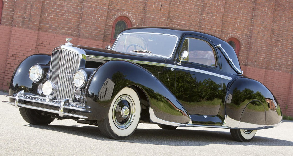 1947 Bentley Mk IV Coupe by Figoni et Falaschi