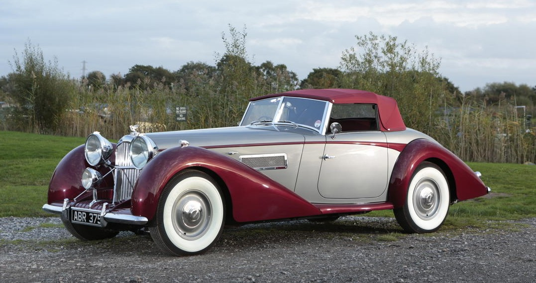 1949 Bentley Mk VI 6.75-Litre Drophead Coupe