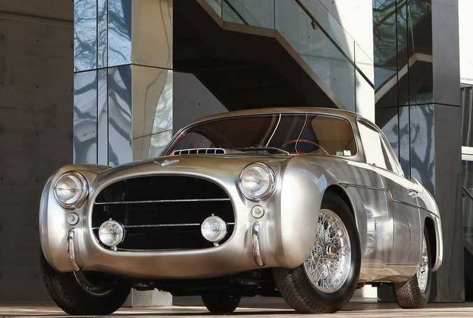 1953 Fiat 8V Coupe by Ghia