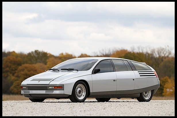 1983 Lincoln Quicksilver Concept by Ghia