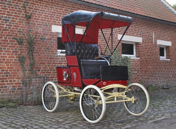 1900 Marlboro Steam Runabout
