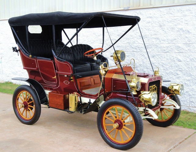 1905 Reo Two-Cylinder Five-Passenger Detachable Tonneau