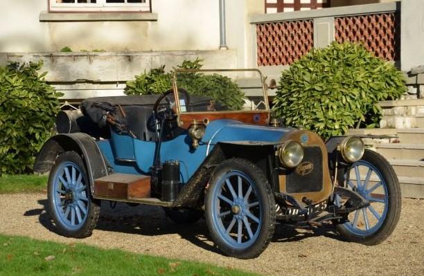 1908 Gregoire 70.4 Phaeton by Alin et Liautard