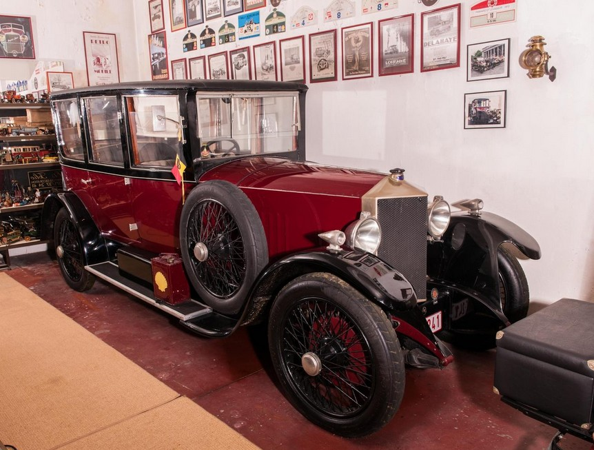 1921 Metallurgique 12-15HP Berline