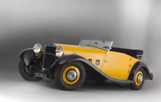 1933 Delage D8 S Cabriolet by Pourtout