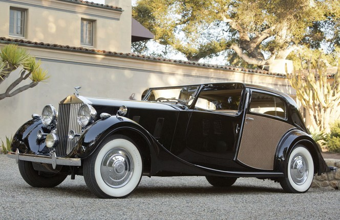 1937 Rolls-Royce Phantom III Sedanca de Ville by Park Ward