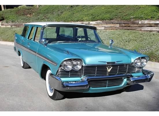 1958 Plymouth Sport Suburban Wagon
