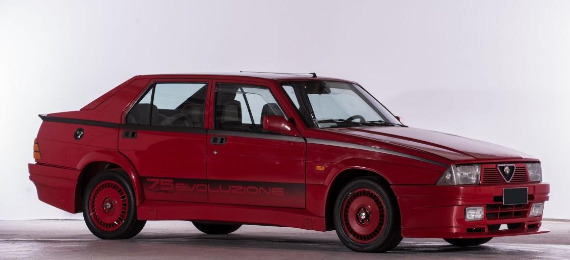 1986 Alfa Romeo 75 1.8 i.e. Turbo Evoluzione