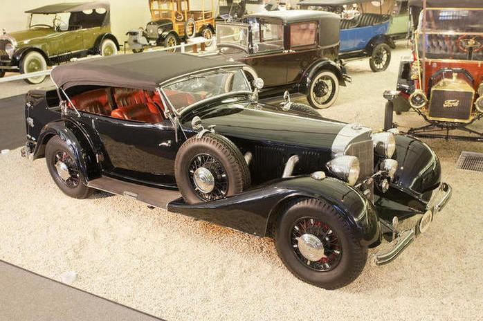 1936 Mercedes-Benz 500K Sport Phaeton