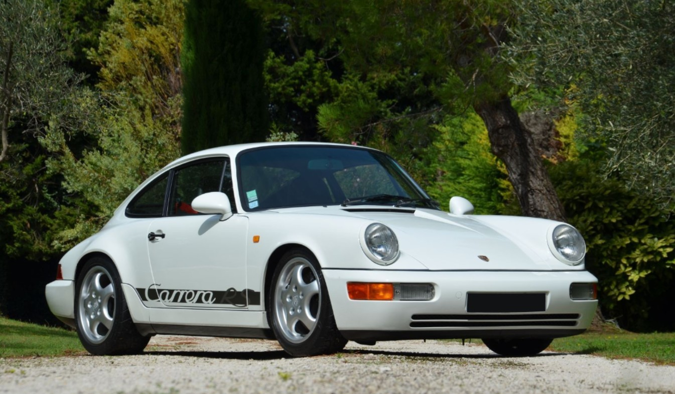 1992 porsche 911 carrera rs offered by artcurial paris france november 2 2014