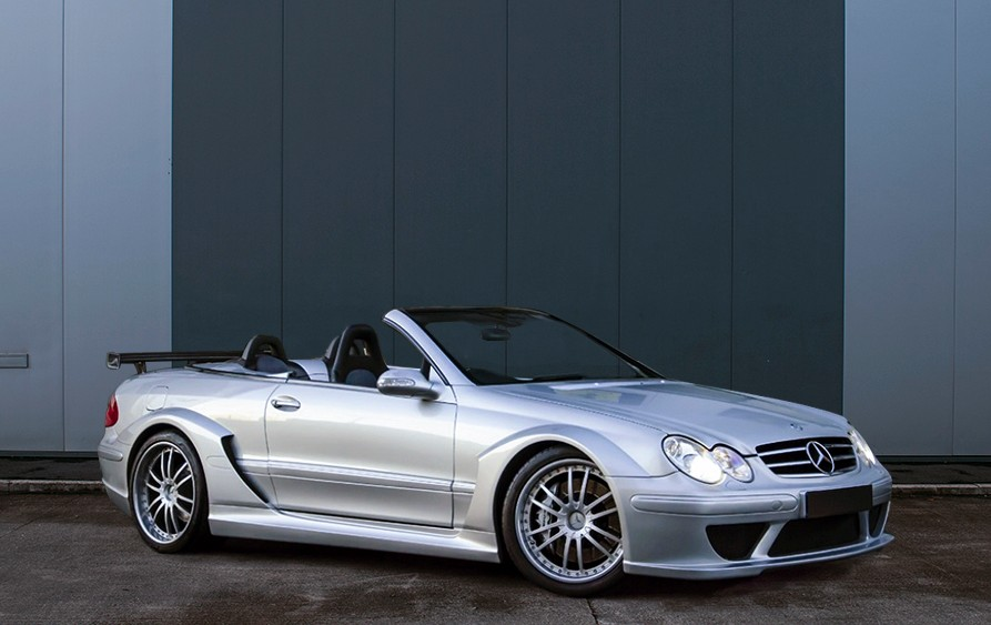 2007 mercedes benz clk dtm amg cabriolet for 2007 mercedes benz clk