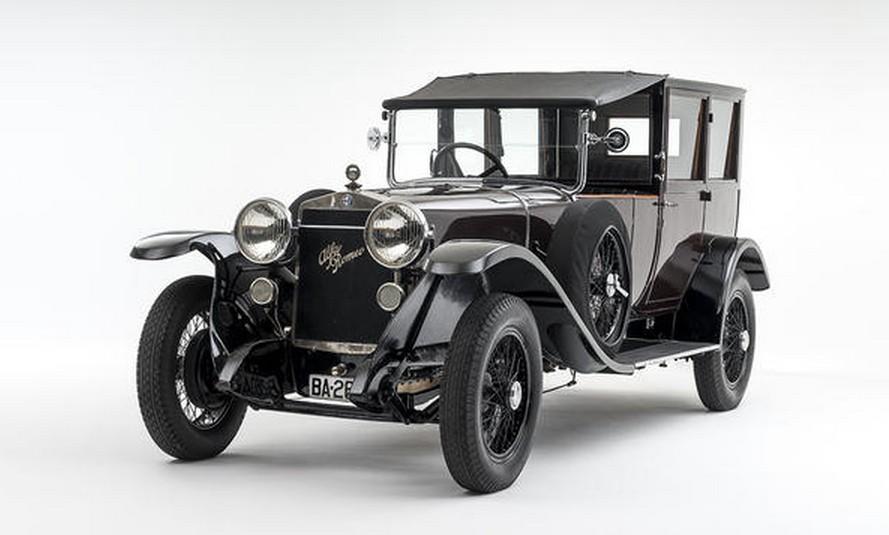 1924 alfa romeo rl limousine de ville by j farr. Black Bedroom Furniture Sets. Home Design Ideas