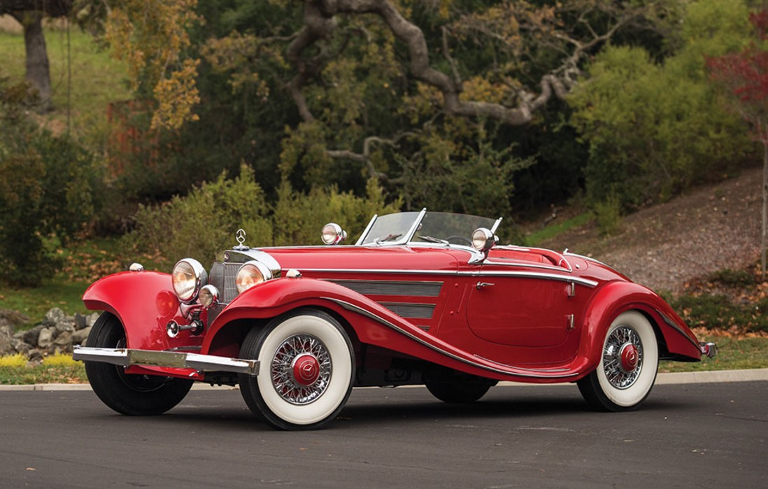 1937 mercedes benz 540k special roadster by sindelfingen offered by rm sothebys phoenix arizona january 28 29 2016