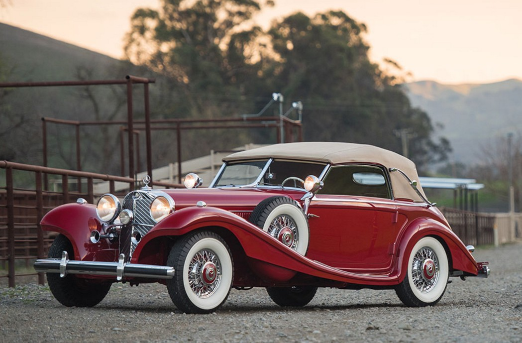 1939 mercedes benz 540k spezial cabriolet a by sindelfingen offered by rm sothebys amelia island florida march 12 2016