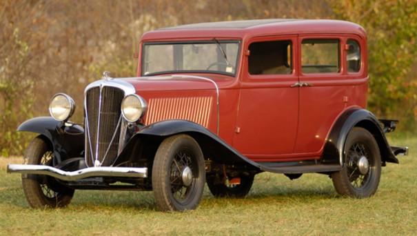 1932 Rockne Model 65 Four-Door Sedan