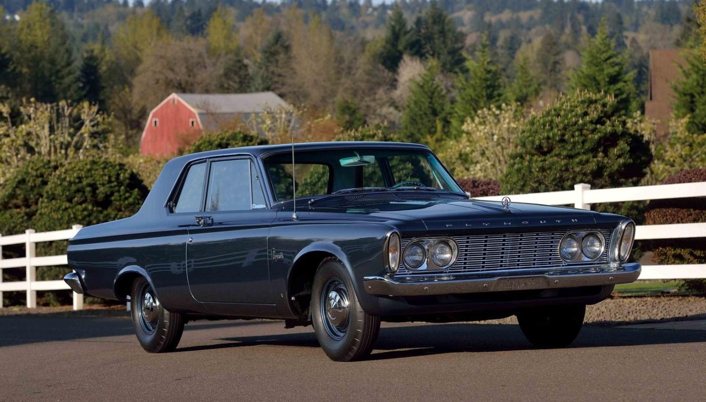 1963 Plymouth Savoy Max Wedge 1960 Sedan