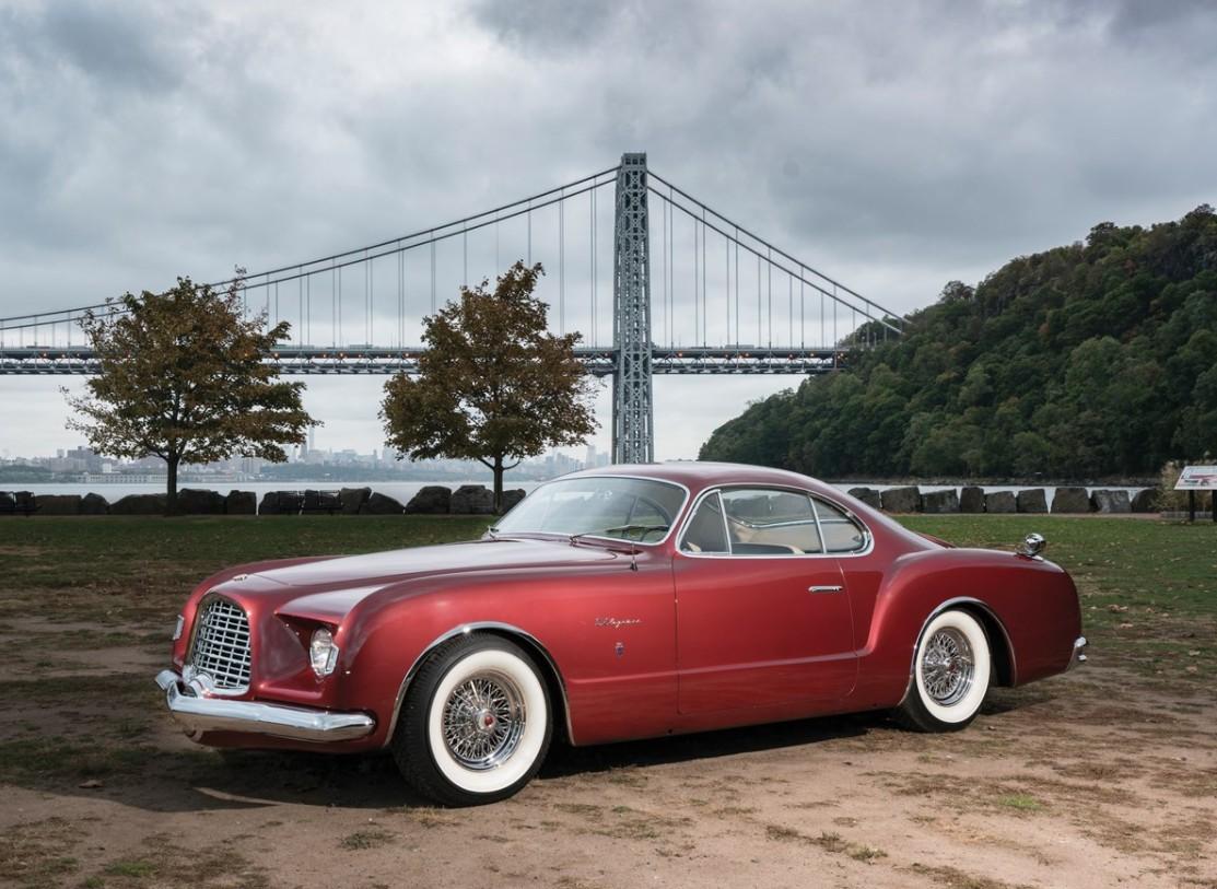 1952 Chrysler Delegance By Ghia 1950s Cars