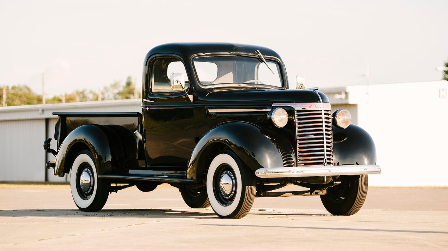 six classic american pickup trucks. Black Bedroom Furniture Sets. Home Design Ideas