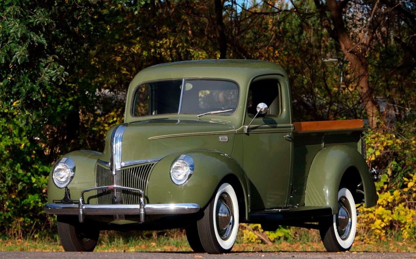 1941 Archives Ford F100 V8 1 2 Ton Pickup