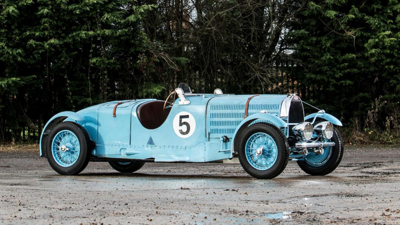 1935 Bugatti Type 57 Torpedo Tourist Trophy
